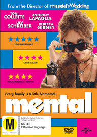 Mental on DVD