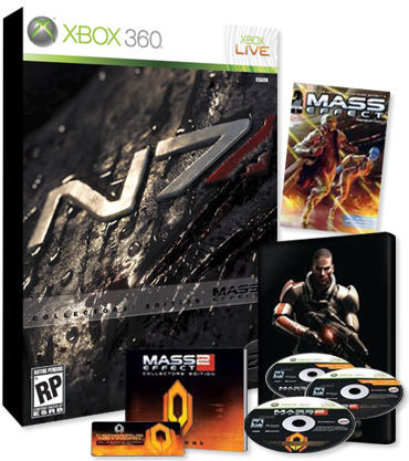 Mass Effect 2 Tin Case Collector's Edition for Xbox 360