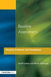Baseline Assessment by Geoff Lindsay