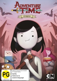 Adventure Time - Stakes! Miniseries on DVD