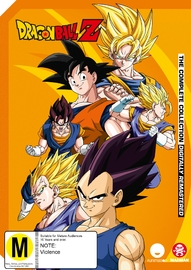 Dragon Ball Z Remastered Uncut: Complete Collection (54 Disc Set) on DVD image