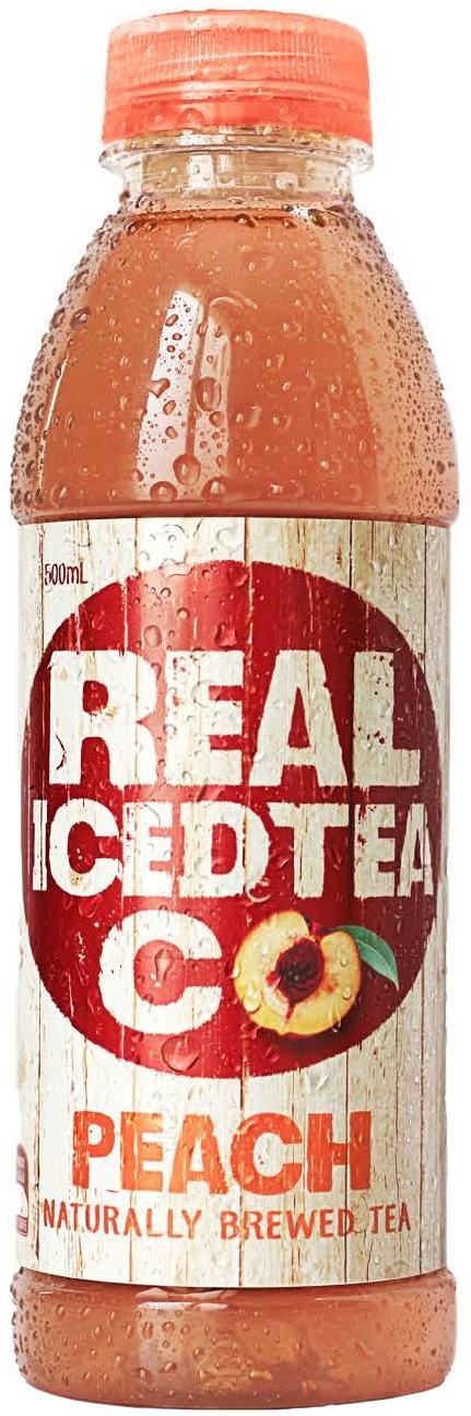 Real Iced Tea Peach 500ml (12 Pack) image