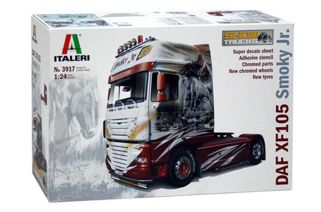 Italeri 1:24 DAF XF105 Smoky JR Show Truck Model Kit