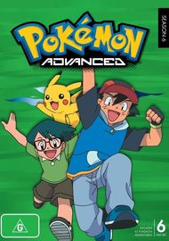 Pokemon Season 6: Advanced on DVD