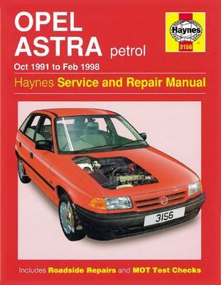 Opel Astra Petrol (Oct 91 - Feb 98) image