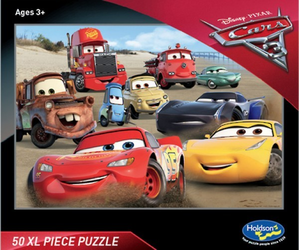 Holdson: Cars 3 50pc XL puzzle - Speed Challenge