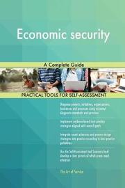 Economic Security a Complete Guide by Gerardus Blokdyk image