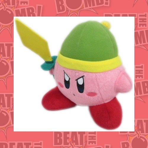 "Kirby Plush Kirby Sword 6"" image"