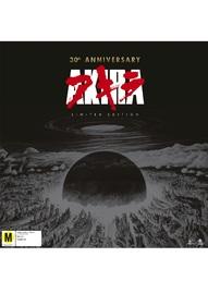 Akira - 30th Anniversary Limited Edition Box-set on Blu-ray