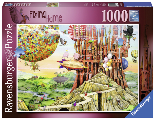 Ravensburger: 1,000 Piece Puzzle - Colin Thompson (Flying Home)