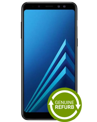Samsung Galaxy A8 32GB - Black [Genuine Refurbished] image