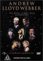 Andrew Lloyd Webber - The Royal Albert Hall Collection on DVD