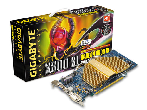 Gigabyte Graphics Card Radeon X800 XL  256M VIVO AGP