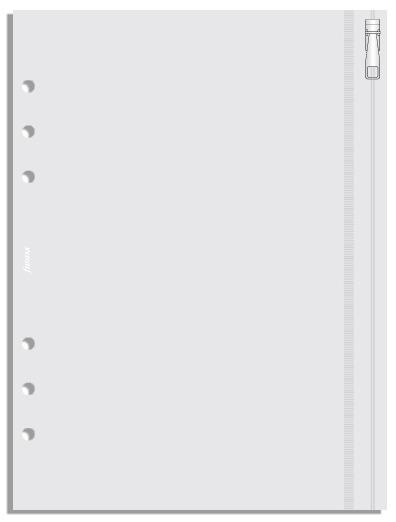 Filofax - A5 Zip Lock Envelope