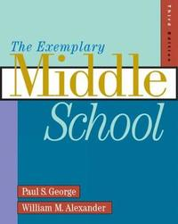 The Exemplary Middle School by Paul George image