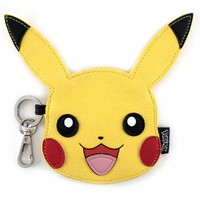 Loungefly Pokemon Pikachu Face Coin Bag image