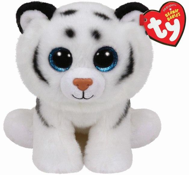 TY Beanie Babies: Tundra Tiger - Medium Plush