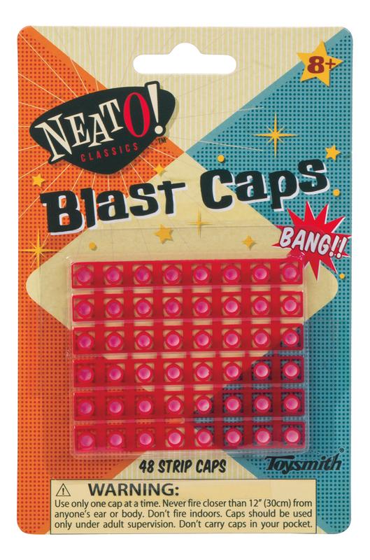 Die Cast Cap Rocket Blast Caps - 48 Shot
