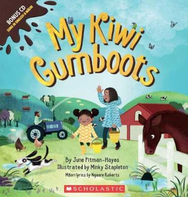 My Kiwi Gumboots by June Pitman-Hayes