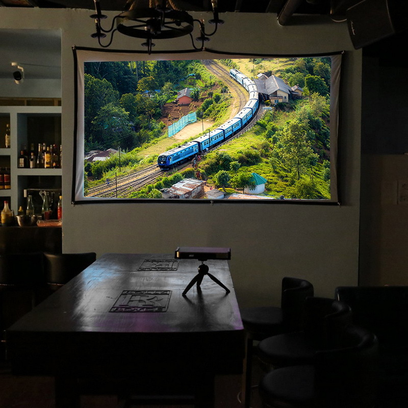 "Portable Projector Screen - 60"" image"