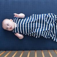 Woolbabe: 3 Seasons Zip Front Sleep Bag - Midnight (3-24 Months)