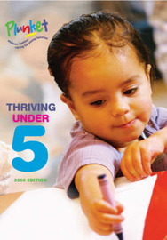 Thriving Under Five - 2008 Edition by Royal NZ Plunket Society image