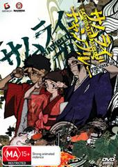 Samurai Champloo - Vol 4 on DVD