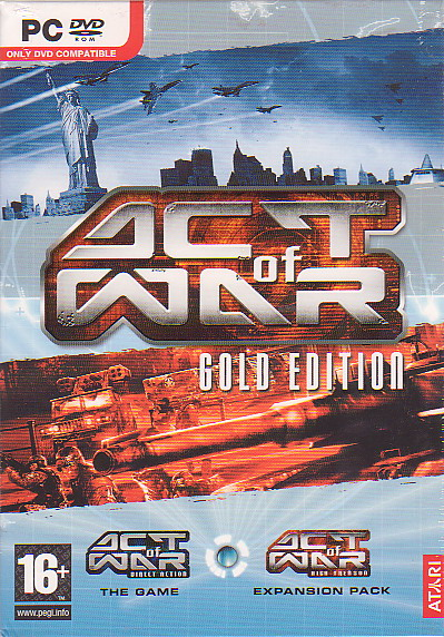 Act of War Gold Edition for PC Games image