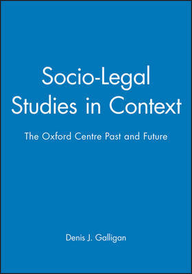 Socio-Legal Studies in Context