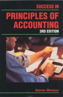 Success in Principles of Accounting Student's Book by Geoffrey Whitehead image