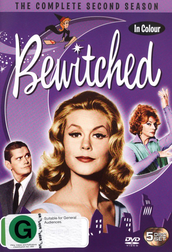 Bewitched - Complete Season 2 (5 Disc Set) on DVD image