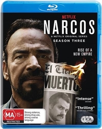 Narcos: Season 3 on Blu-ray