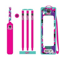 Wahu Beach - Marvellous Cricket Set (Pink)