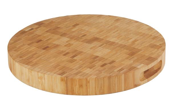 MasterPro: Bamboo End-Grain Round Board (35x35x4cm)