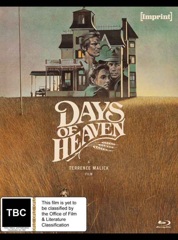 Days Of Heaven (Imprint Collection #62) on Blu-ray