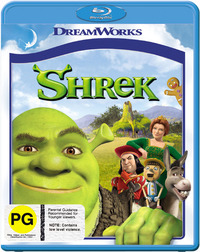 Shrek on Blu-ray