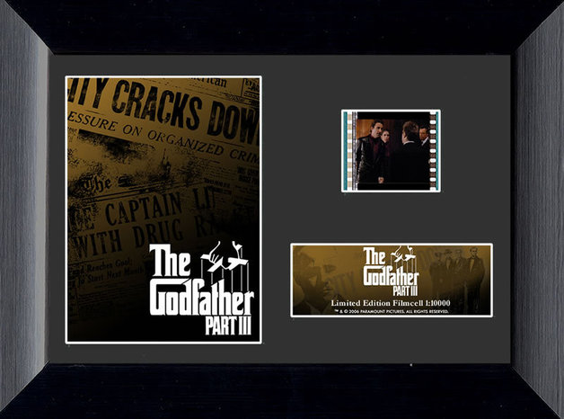 FilmCells: Mini-Cell Frame - The Godfather Part III (Newspaper)
