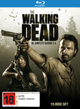 The Walking Dead - Season 1 - 4 on Blu-ray
