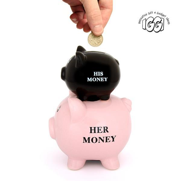 His and Hers Piggy Bank image