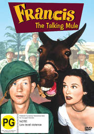 Francis The Talking Mule on DVD