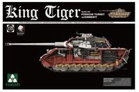 Takom 1/35 King Tiger Sd.Kfz.182 Porsche Turret Model Kit