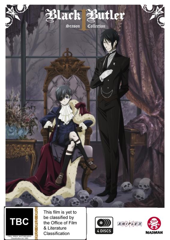 Black Butler Complete Season 1 on DVD