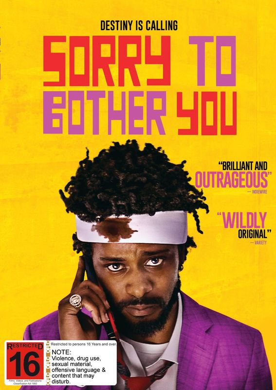 Sorry To Bother You on DVD