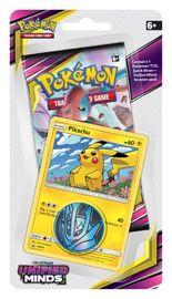 Pokemon TCG: Unified Minds Checklane Blister Pikachu image