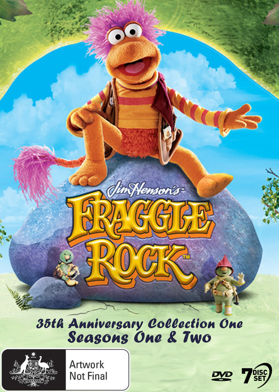 Fraggle Rock - Remastered 35th Anniversary Collection 1 (S1&2) on DVD