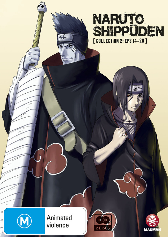 Naruto Shippuden - Collection 02 (Eps 14-26) on DVD