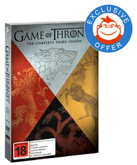 Game of Thrones - The Complete Third Season - Mighty Ape Exclusive Packaging on DVD