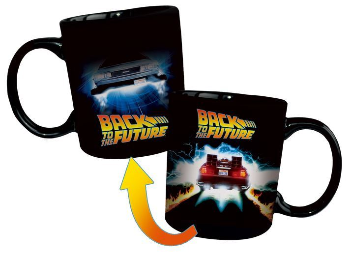 Back to the Future - Delorean Heat Changing Mug image
