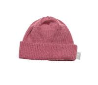 Babu Merino Rib Hat - Pink Heather (3-6 Months)