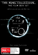 Ring Collection, The (Ring / Ring Two) (2 Disc Set) on DVD